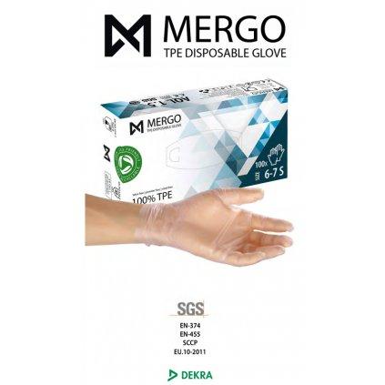 Medyczne rękawiczki HYBRYDOWE!  8% VAT 100 sztuk